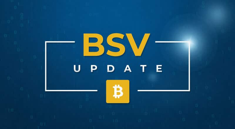 BSV Update 20th November 2019