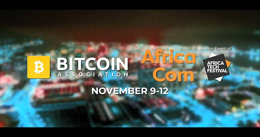 Poster of AfricaCom 2020