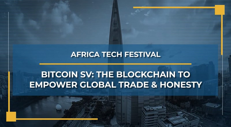 Poster of Africa Tech Festival's talk