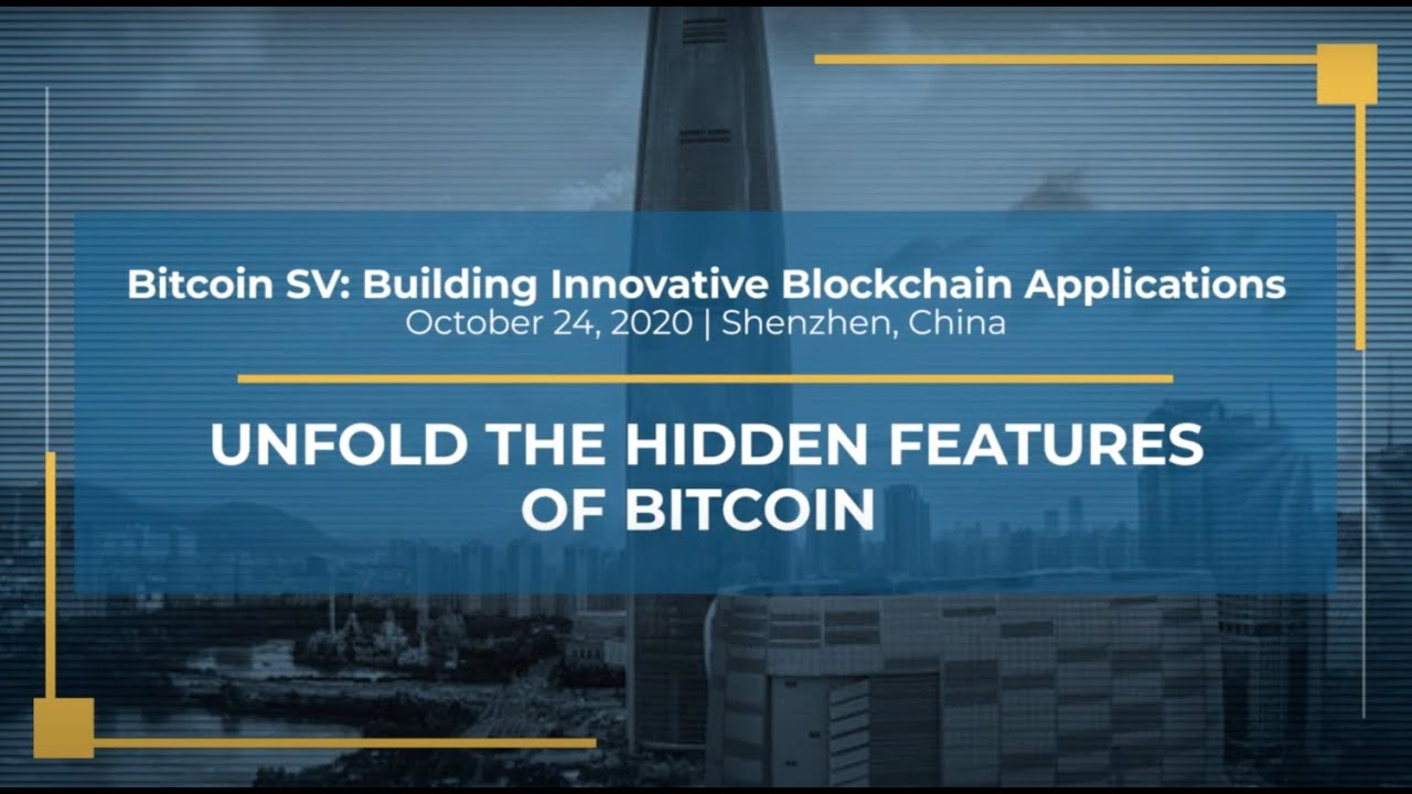 Unlock the hidden features of Bitcoin - Edward Liu