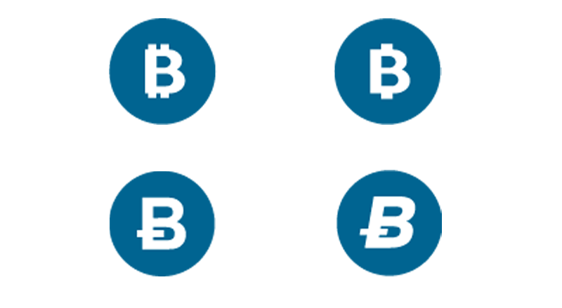 An updated logo for the Bitcoin SV currency