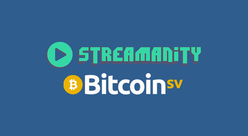 Streamanity video service on Bitcoin SV [BSV] secures