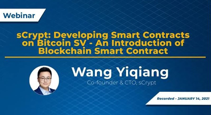 BSV Webinar with Wang Yiqiang