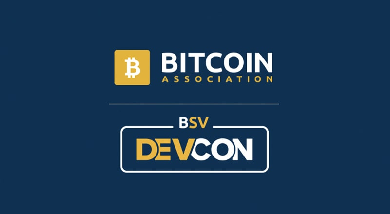 Bitcoin Association and Bitcoin SV Devcon Logos