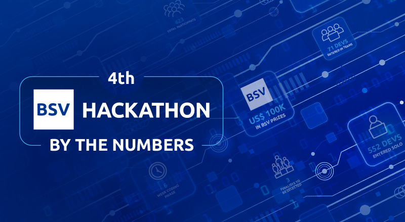 4th BSV Hackathon by the numbers