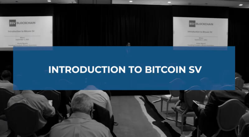 Introduction to the BSV blockchain by Jimmy Nguyen